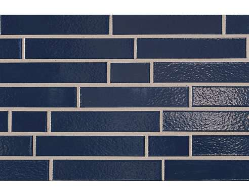 Клинкерная плитка для фасада 350 Marineblau Langformat (365х52х10)