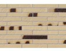 Клинкерная плитка для фасада Alaska beige Kohlebrand Schieferstruktur LF (365х52х10)