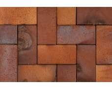Клинкерная брусчатка Ember (orange-gelb-Kohlebrand) 0855 (200х100х52)