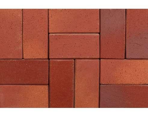 Клинкерная брусчатка Koln rot-geflammt (200х100х52)
