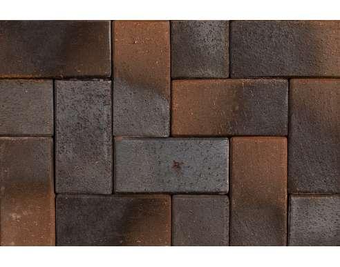 Клинкерная брусчатка Lubek 0615 (200х100х52)
