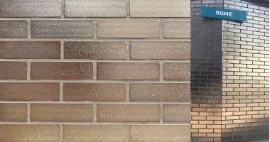Клинкерная плитка для вентфасада и наклеивания Gold glatt (250x71x14)