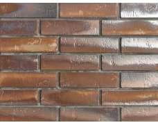 Клинкерная плитка для вентфасада и наклеивания Buxtehude dunkel Schieferstruktur (270x71x14)