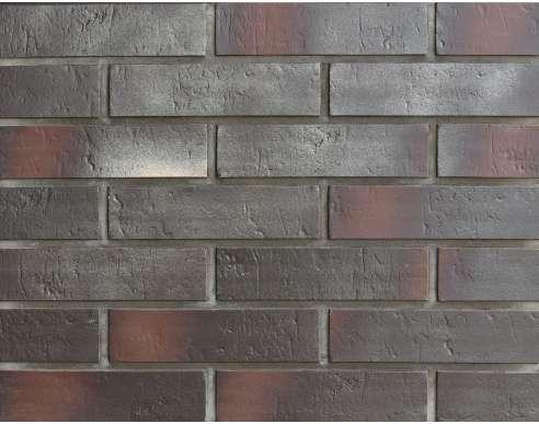 Клинкерная плитка для вентфасада Buxtehude dunkel Schieferstruktur (285x71x14)