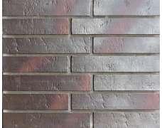 Клинкерная плитка для вентфасада и наклеивания Buxtehude dunkel Schieferstruktur (400x71x14)