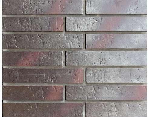 Клинкерная плитка для вентфасада Buxtehude dunkel Schieferstruktur (400x71x14)
