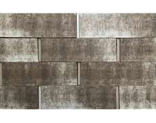 Клинкерная плитка для вентфасада и наклеивания Bergstein Grau Struktur hell besandet (287х85х23)