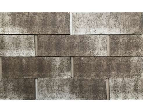 Клинкерная плитка для вентфасада Bergstein Grau Struktur hell besandet (287х85х23)