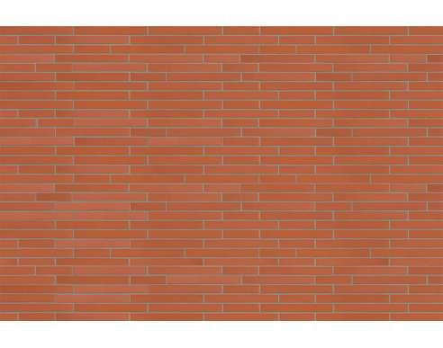 Фасадный клинкерный кирпич Rot-nuanciert (0154) glatt (490х71x115)