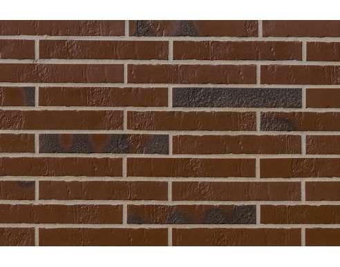 Клинкерная плитка для фасада Alaska braun Kohlebrand Schieferstruktur LF (365х52х10)