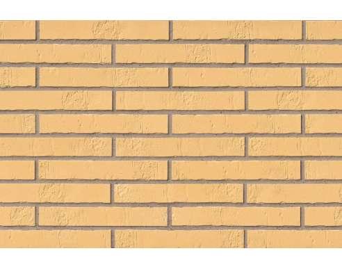 Клинкерная плитка для фасада Gelb Schieferstruktur LF (490х52х10)