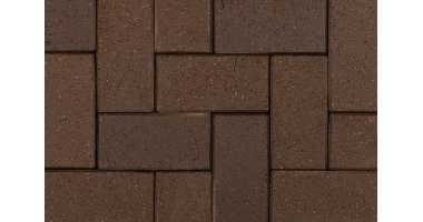 Клинкерная брусчатка Schwarz Braun 0890 (200х100х20)
