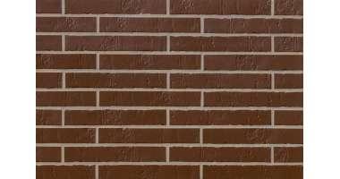 Клинкерная плитка для фасада Alaska braun Schieferstruktur LF (365х52х10)