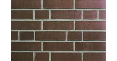 Фасадный клинкерный кирпич Aachen braun glatt (240х52x115)