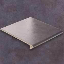 Ступень угловая Флорентинер Lichtgrau (335x335x10)