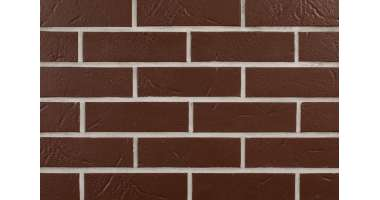 Клинкерная плитка для фасада Alaska Braun genarbt (240x71x7)