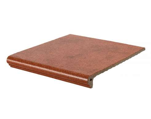 Ступень угловая Флорентинер Granit Rot (335x335x10)
