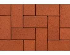 Клинкерная брусчатка Rot-nuanciert 0111 (200х78х52)