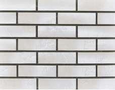 Клинкерная плитка для вентфасада и наклеивания Weiss Presnya City silber Schieferstruktur (240x71x14)