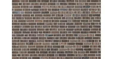 Фасадный клинкерный кирпич Belfast braun-Kohle wasserstrich (240х71x115)