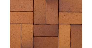 Клинкерная брусчатка Herbstlaub-geflammt hell 9356 (200х100х52)