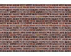 Фасадный клинкерный кирпич Brandenburg rot-bunt mit Gelbanteil glatt (240х71x115)