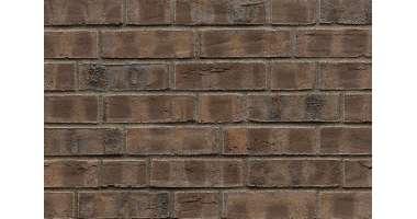 Фасадный клинкерный кирпич Leeds Kohle wasserstrich (240х71x115)