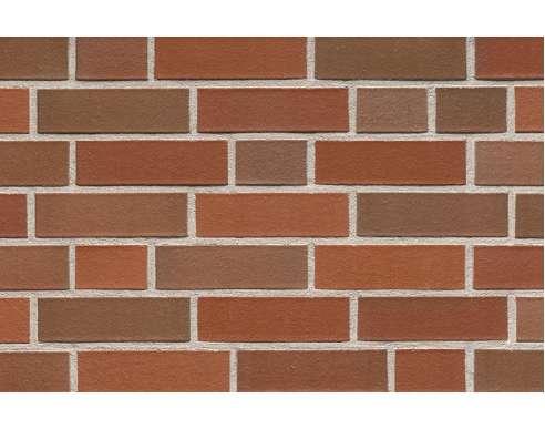 Фасадный клинкерный кирпич Emsland altfarben-bunt glatt (240х71x115)