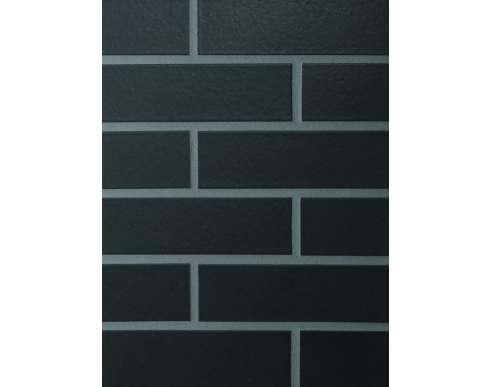 Клинкерная плитка для фасада Schwarz matt glatt (240х71х10)