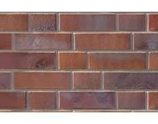 Фасадный клинкерный кирпич Oldenburg rot-bunt-Schmolz mit Kohlebrand glatt (240х71x115)