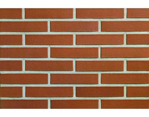 Фасадный клинкерный кирпич Münsterland rot-nuanciert glatt (240х52x115)