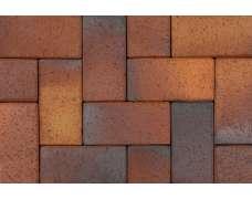 Клинкерная брусчатка Herbstlaub geflamt 0933 (200х100х20)