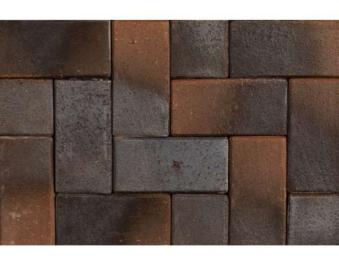 Клинкерная брусчатка Lubek 1619 (200х100х40)
