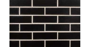 Клинкерная плитка для фасада 390 Tiefschwarz (240x71x10)