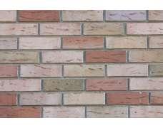 Фасадный клинкерный кирпич Grafschafter Barock sandfarben-bunt wasserstrich (240х71x115)