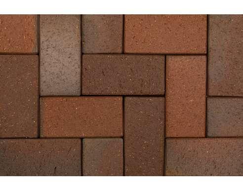 Клинкерная брусчатка Kiel Heidebunt 0680 (200х100х20)
