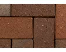Клинкерная брусчатка Kiel-Heidebunt 0680 (200х100х45)