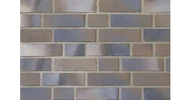 Фасадный клинкерный кирпич Aurich braun-blau-bunt glatt (215х65х102)