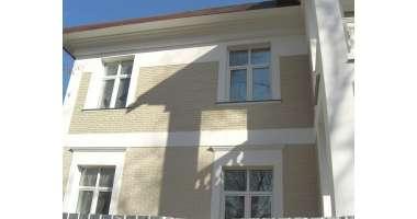 Фасадный клинкерный кирпич Crème weiss schieferstruktur (250х65x90)